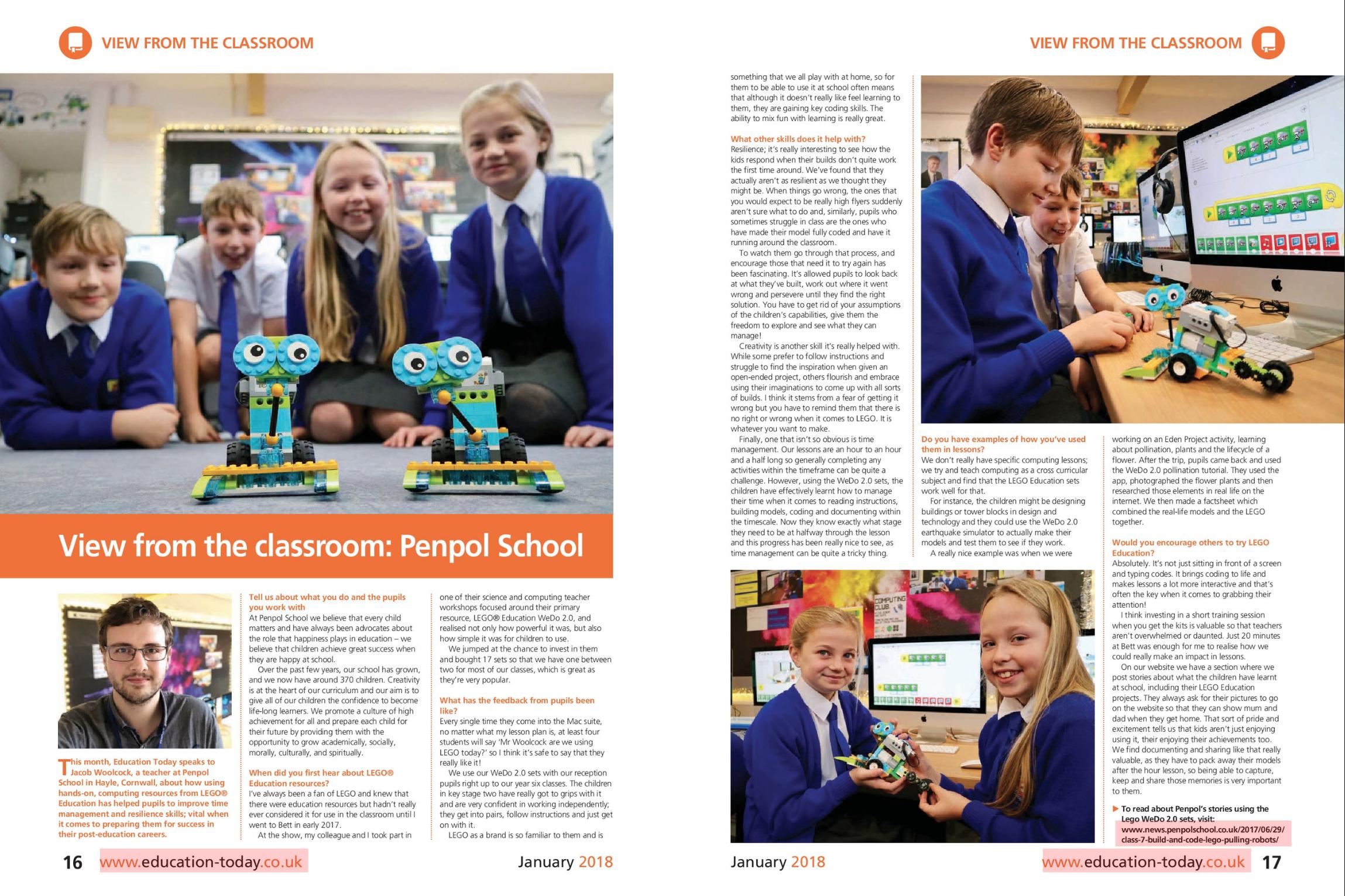 Penpol lead the way with LEGO Robotics! – Penpol Primary School