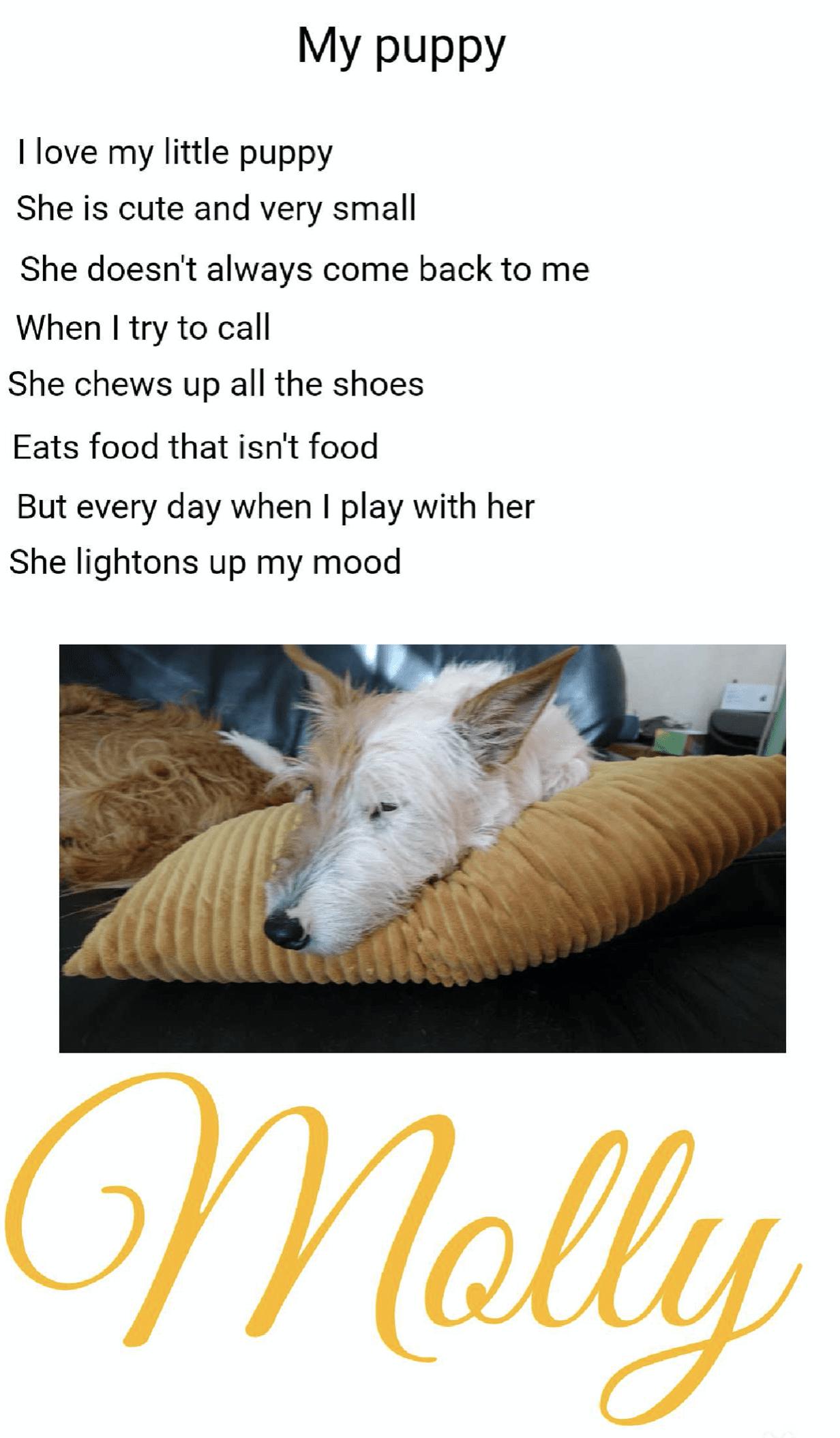 Poem Eloise