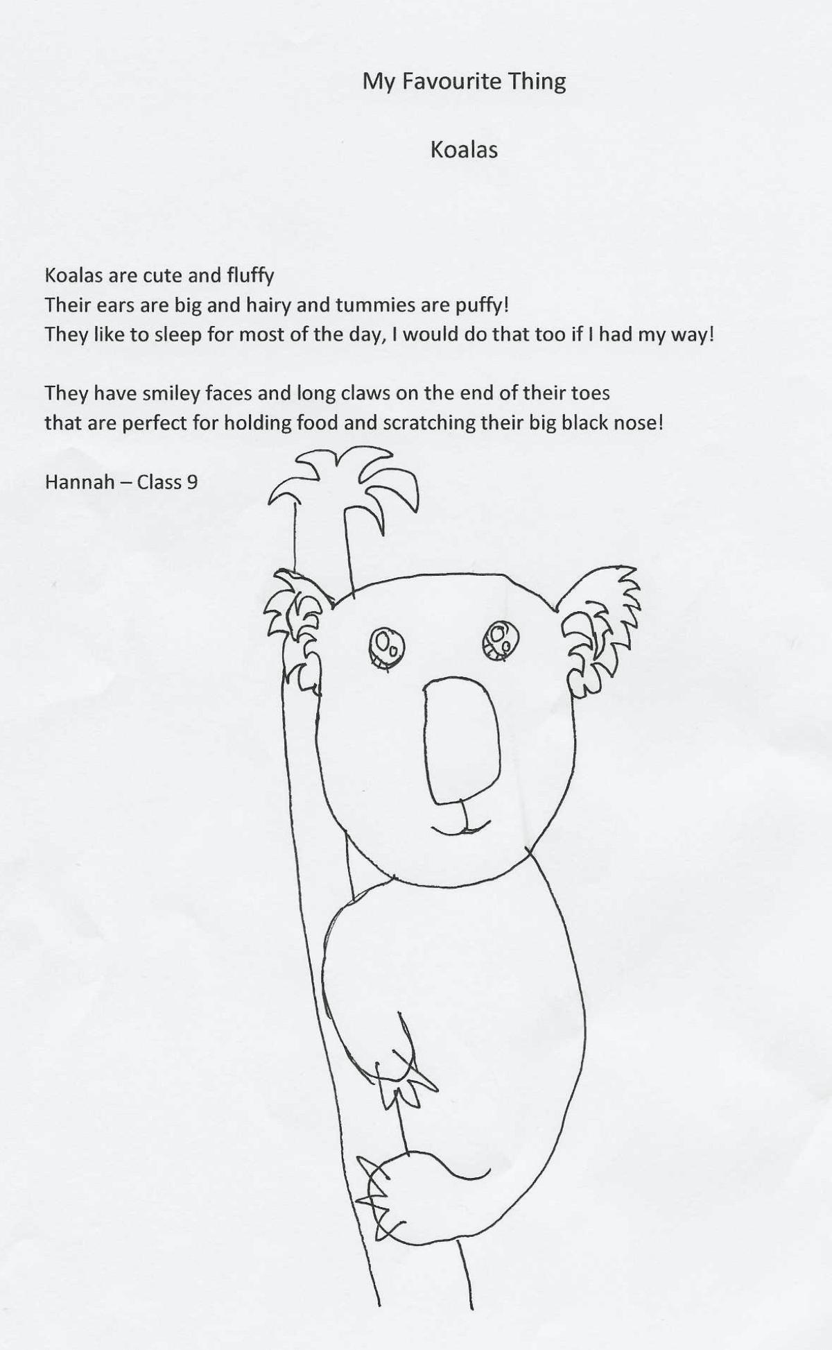 Poem Hannah