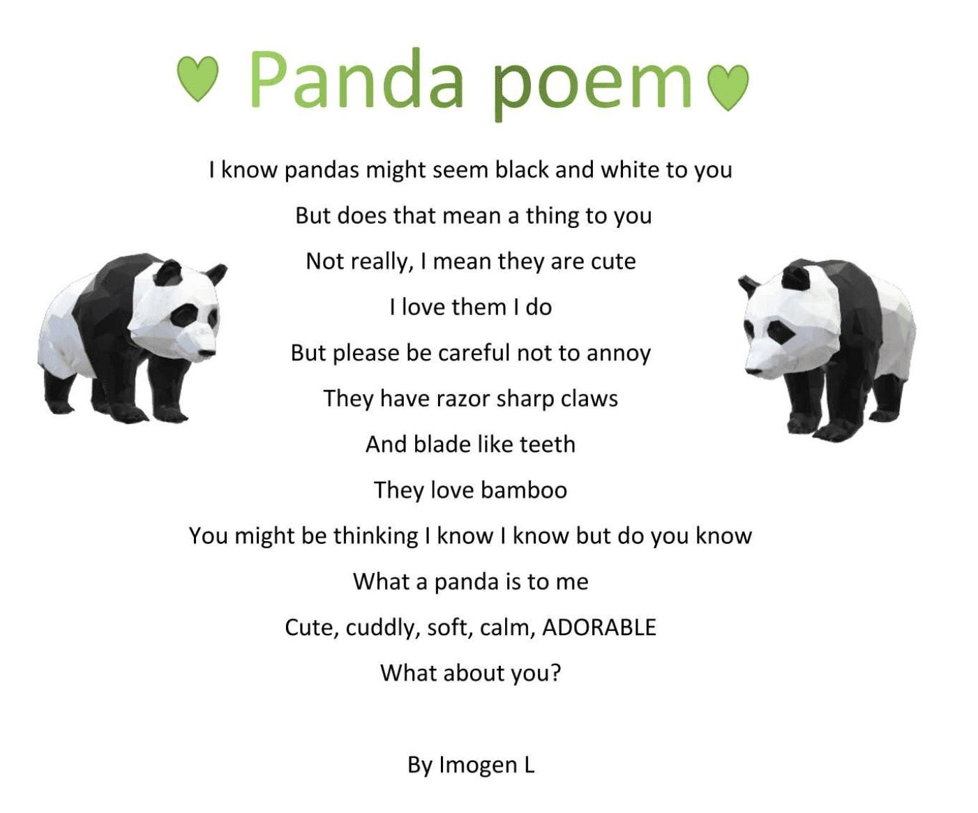 Poem Imogen