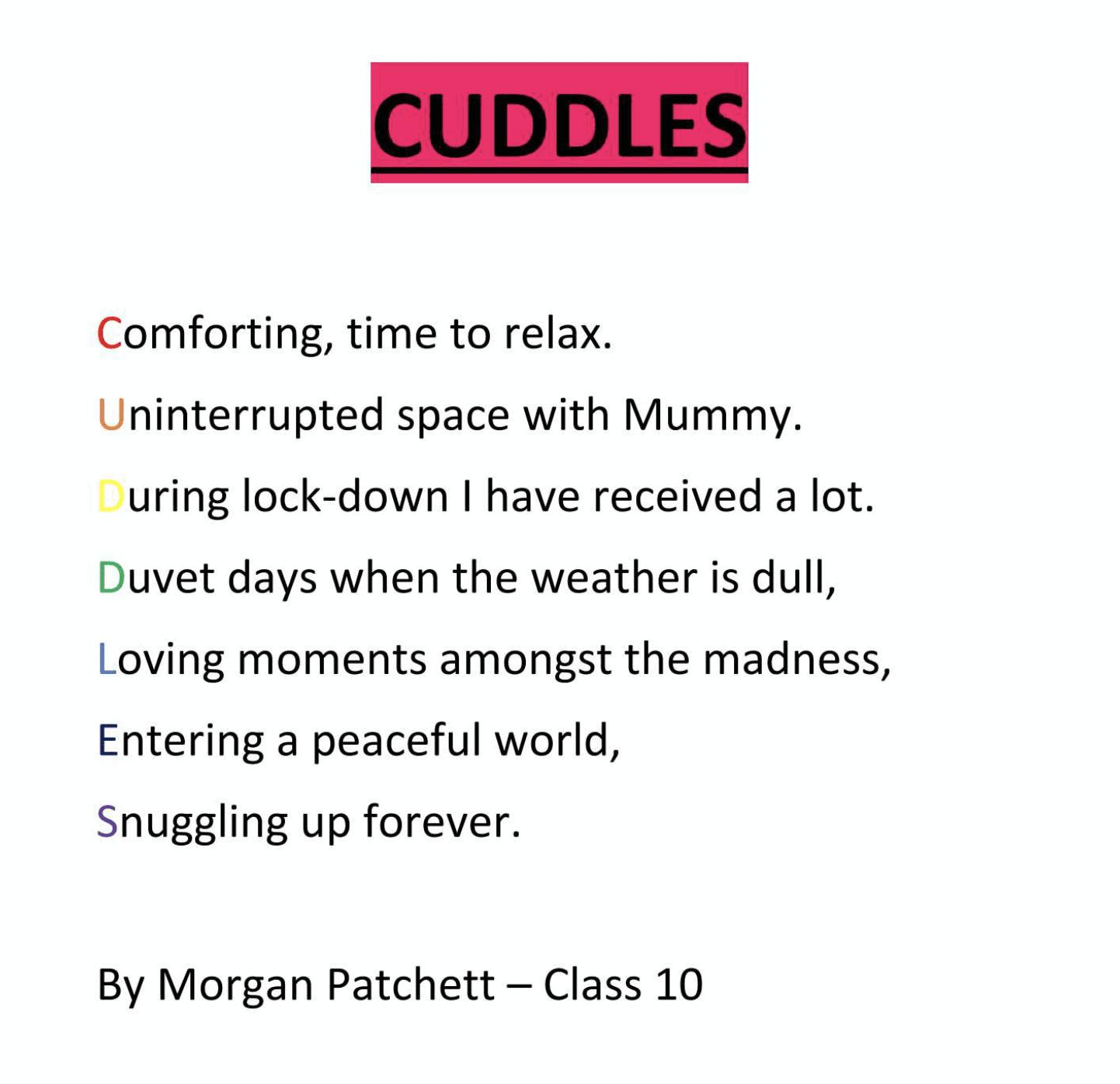Poem Morgan