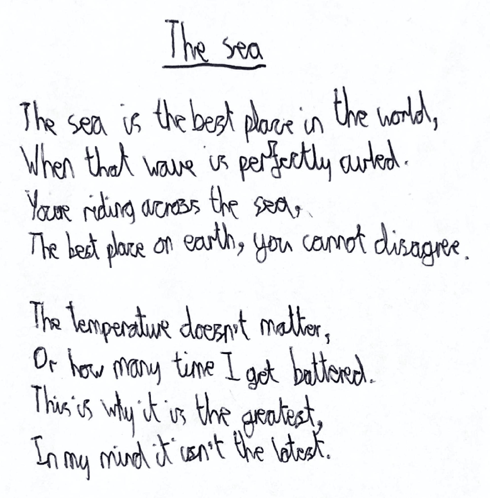Poem Vinnie